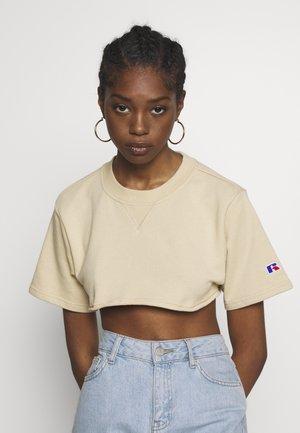 LOGAN - T-shirt basic - cement