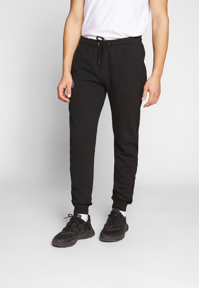 CUFFED LEG PANT SLIM FIT - Trainingsbroek - black