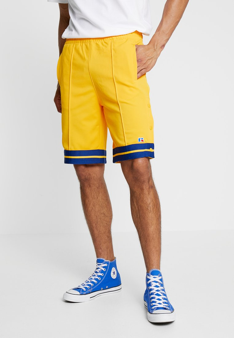 Russell Athletic Eagle R - SALOME POP AWAY STRIPED - Shorts - yellow