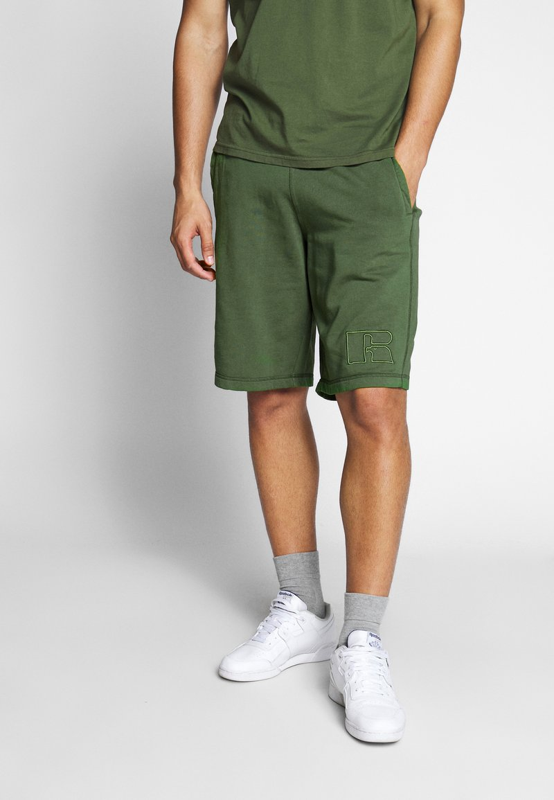 Russell Athletic Eagle R - MATTIA - Tracksuit bottoms - cypress