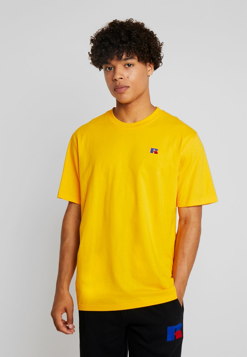 Russell Athletic Eagle R - BASELINERS - Basic T-shirt - yellow