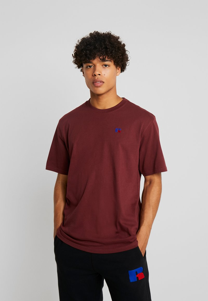 Russell Athletic Eagle R - BASELINERS - T-Shirt basic - dark red