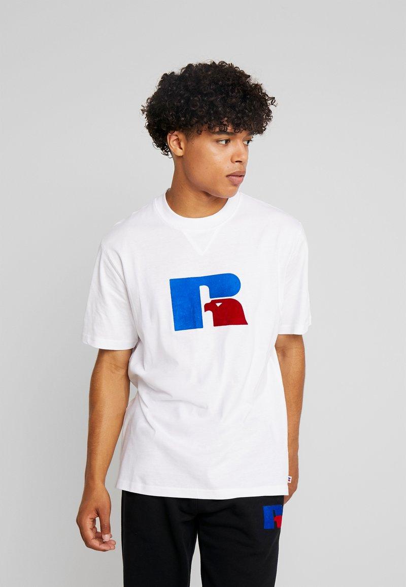 Russell Athletic Eagle R - JERRY - T-Shirt print - white