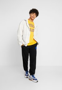 Russell Athletic Eagle R - ICONIC CREW NECK TEE - T-shirt con stampa - yellow - 1