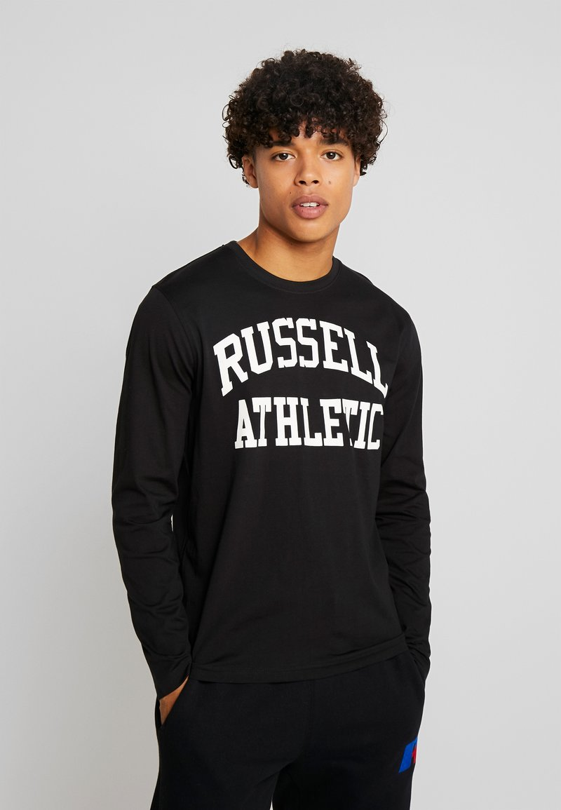 Russell Athletic Eagle R - ICONIC SCREWNECK - Langarmshirt - black