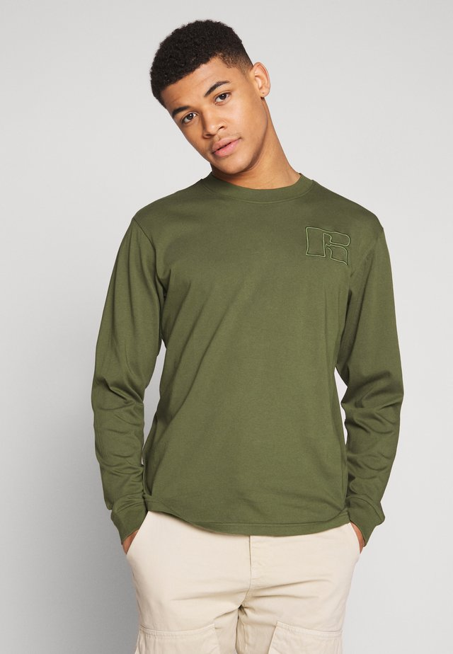 MAURIZIO - Long sleeved top - cypress