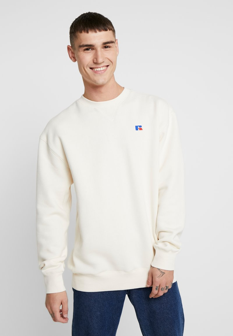 Russell Athletic Eagle R - FRANK - Sweatshirt - off-white
