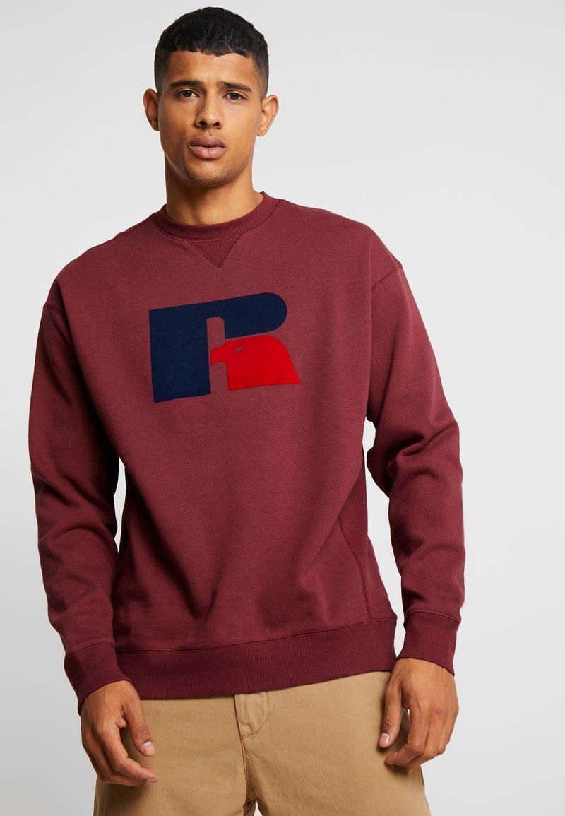 Russell Athletic Eagle R - BENJAMIN - Sweatshirt - dark red
