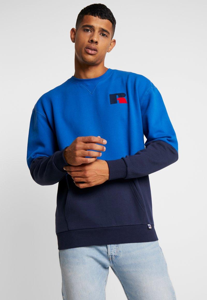 Russell Athletic Eagle R - WAYNE - Sweatshirt - blue