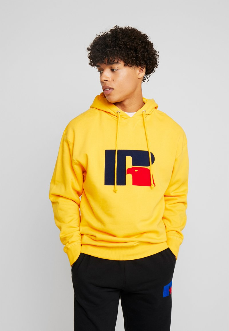Russell Athletic Eagle R - MIKE - Kapuzenpullover - yellow