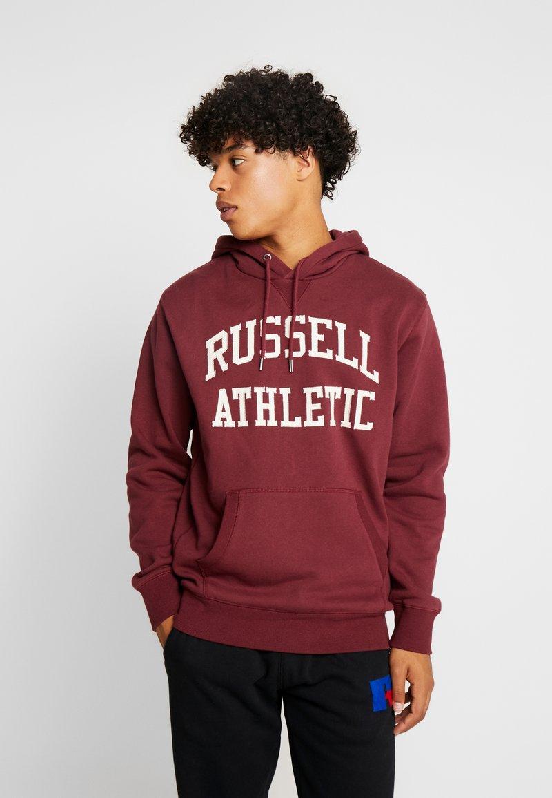 Russell Athletic Eagle R - HOODY - Kapuzenpullover - dark red