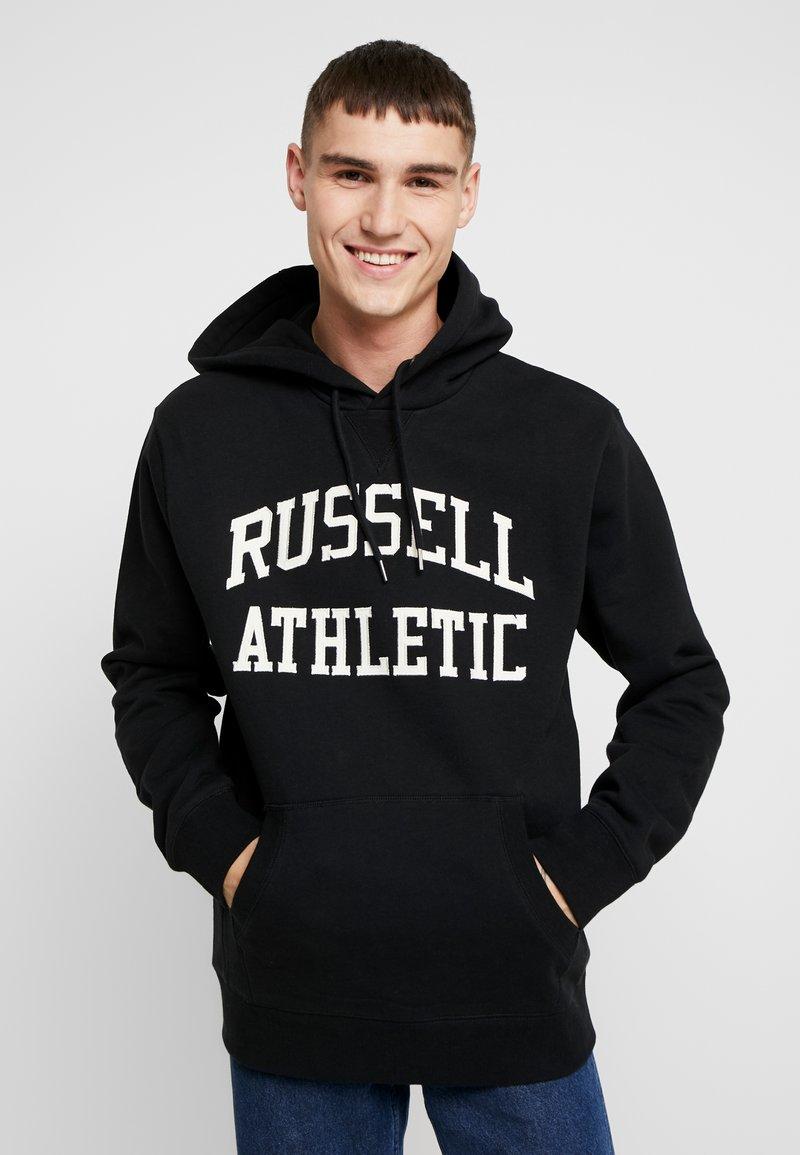 Russell Athletic Eagle R - HOODY - Felpa con cappuccio - black