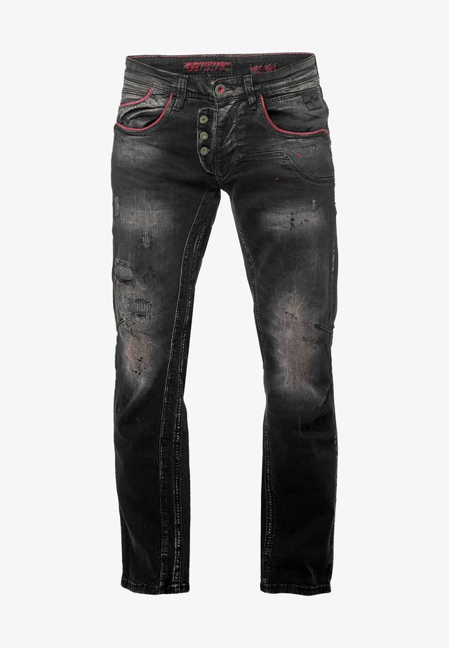 RUSTY NEAL - Slim fit jeans - anthrazit