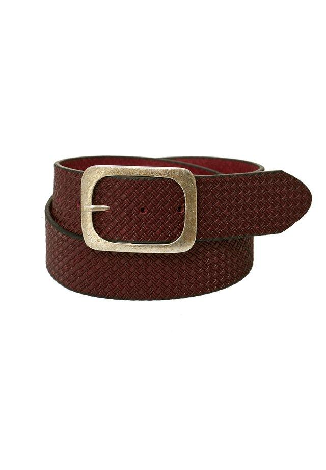 Belt - weinrot