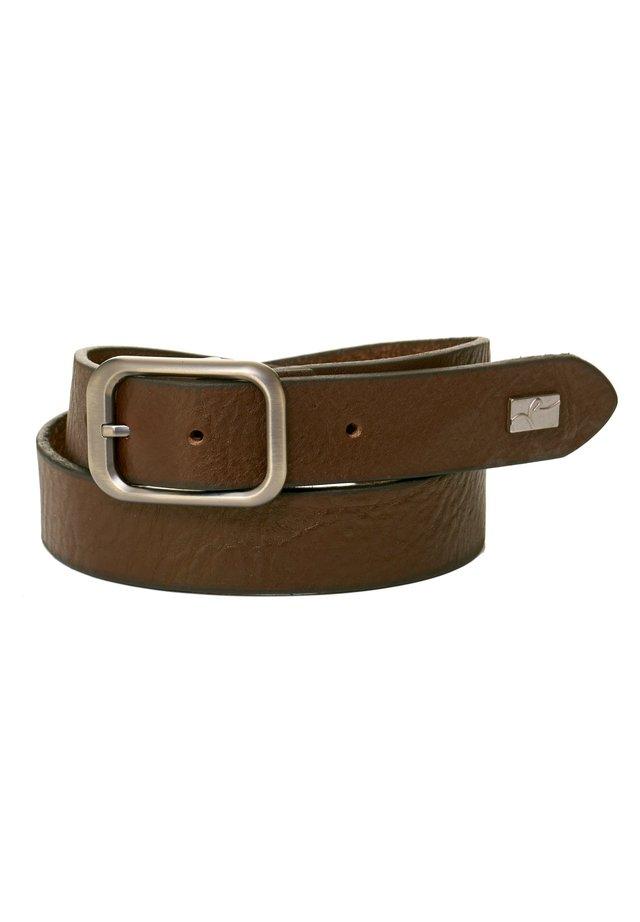Belt business - braun