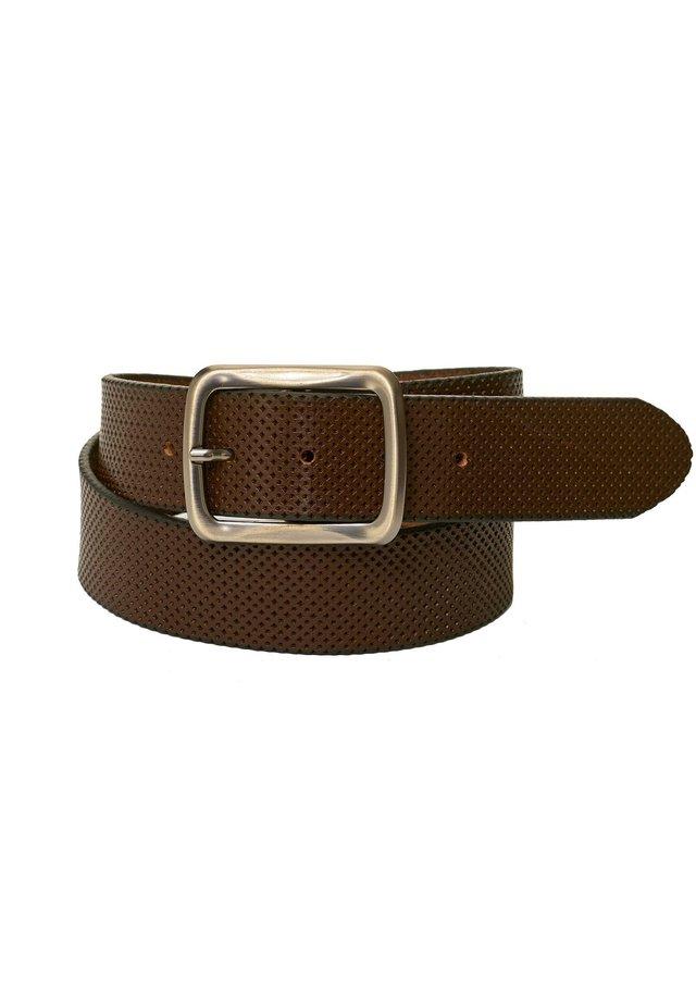 DESIGNER  - Belt - braun
