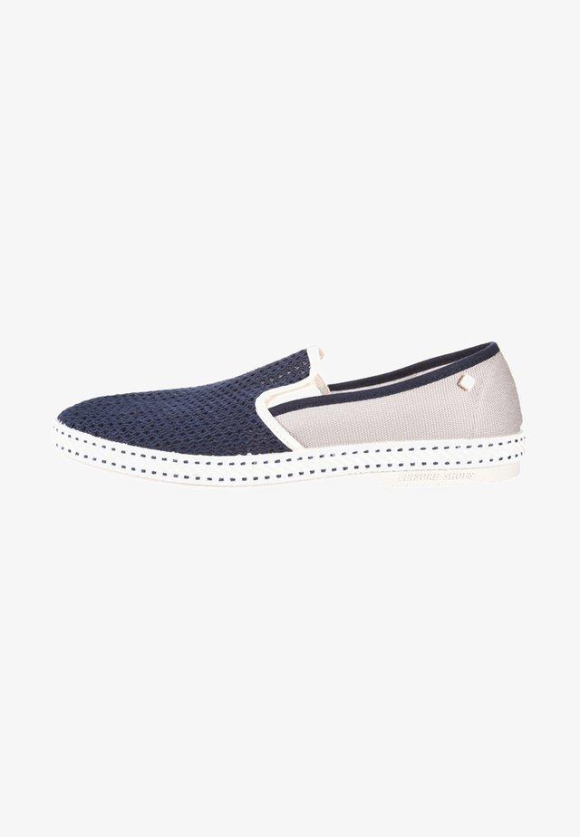 VAJOLIROJA  - Nazouvací boty - blau