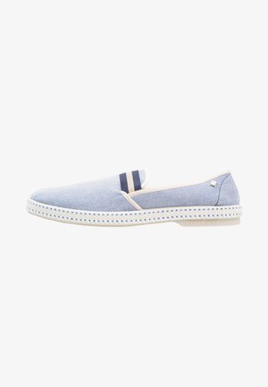 COLLEGE OXFORD - Slip-ons - bleue