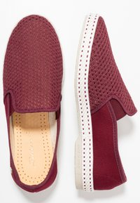 RIVIERAS - CLASSIC 20° - Loafers - bordeaux - 1
