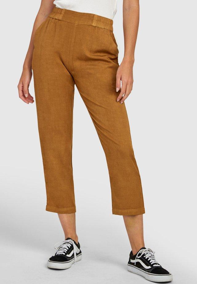 Trousers - antique bronze