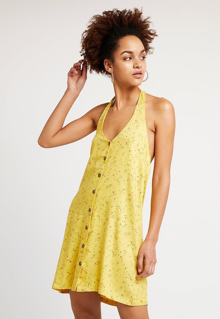 RVCA - BABY - Skjortklänning - mustard
