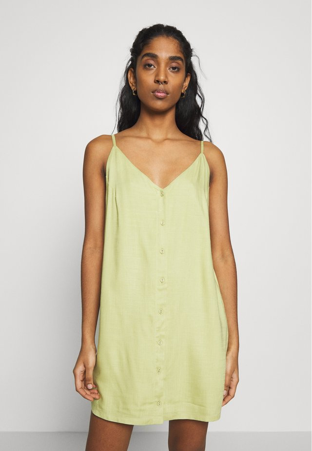 AARON - Shirt dress - pear
