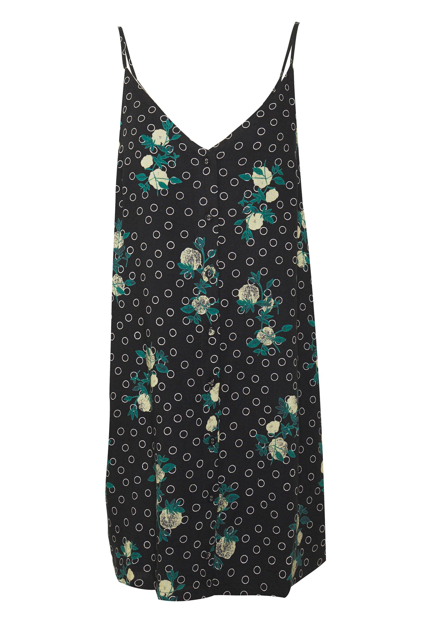 Rvca Aaron - Skjortklänning Black