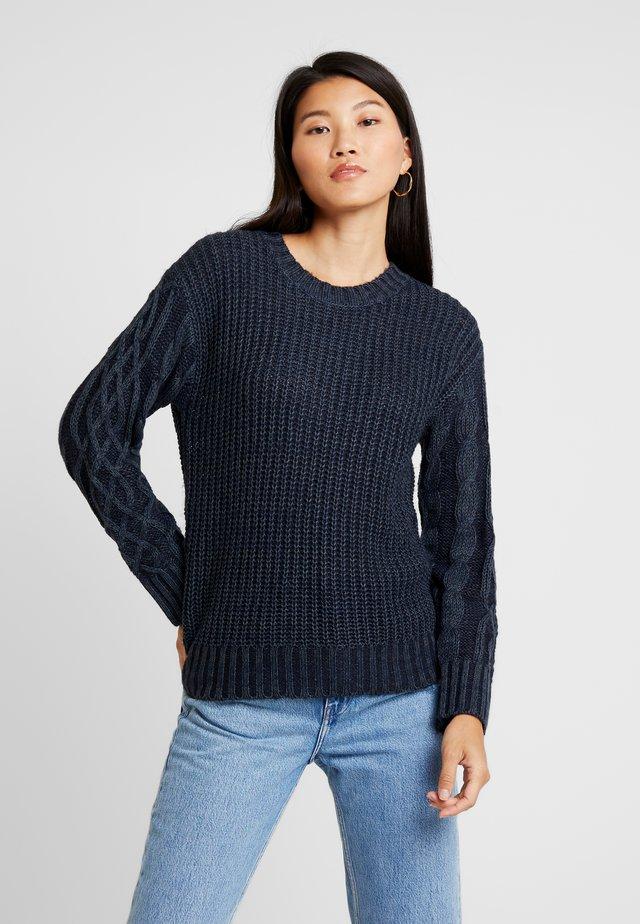 EMBER - Pullover - navy