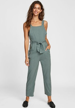 Jumpsuit - granite green