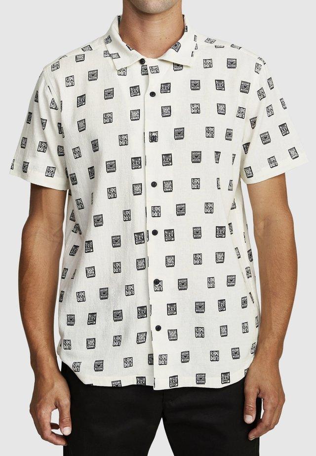 Shirt - white/black