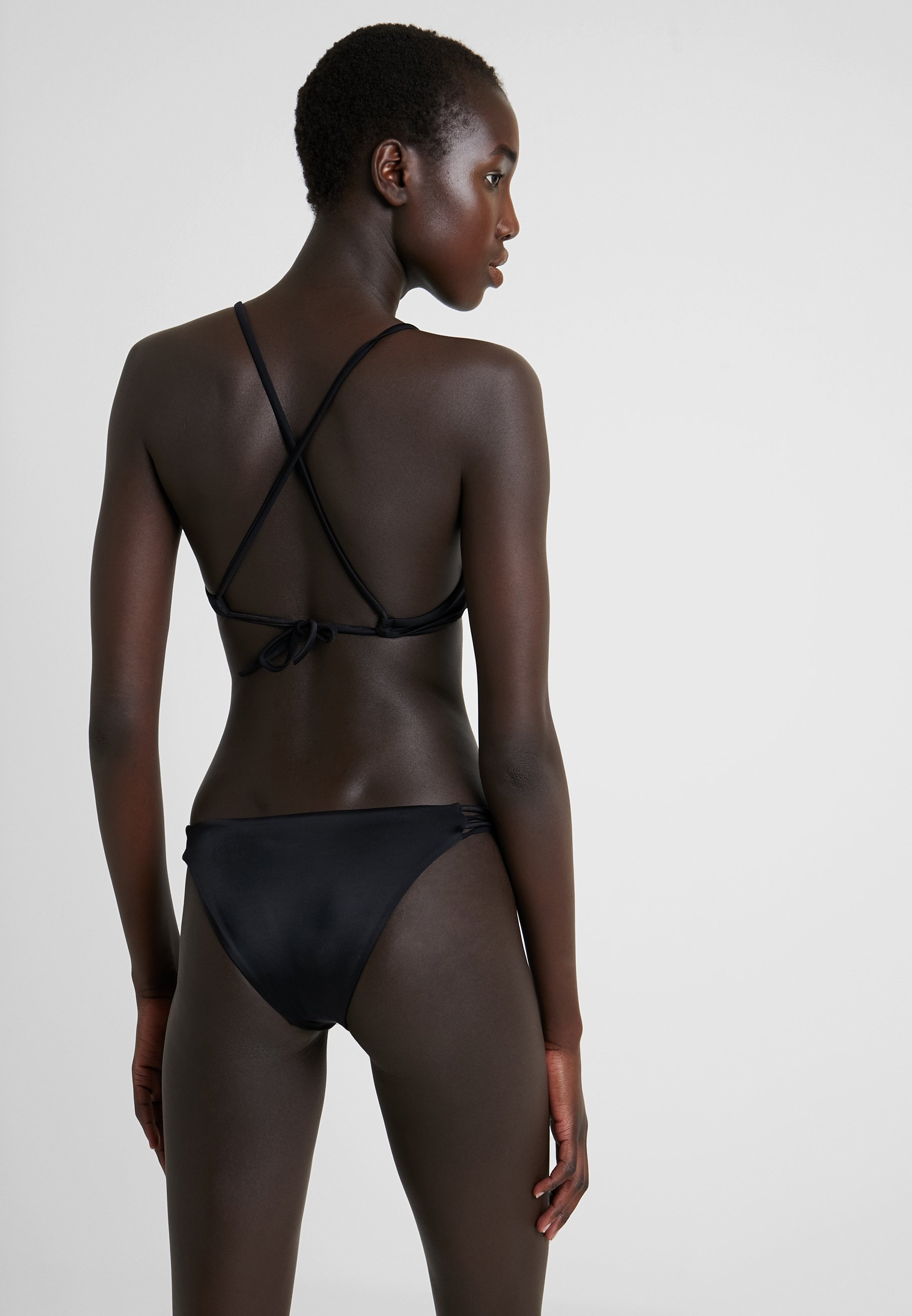 Solid Medium De Bikini LoopBas Rvca Black Xk0O8NnwPZ