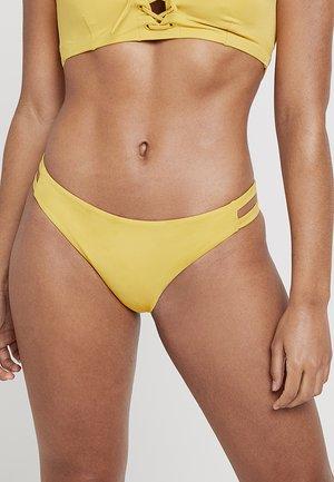 SOLID FULL TAB SIDE - Bikinibroekje - mustard