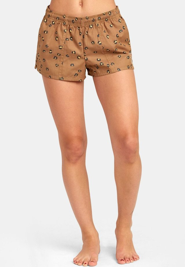 SYNCED UP - BADE-SHORTS FÜR DAMEN S3BSRARVP0 - Swimming shorts - almond