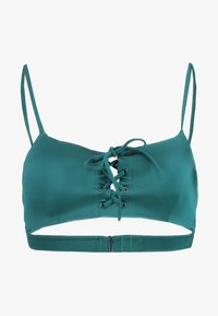 RVCA - SOLID SHIMMER - Haut de bikini - spruce - 4