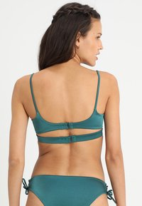 RVCA - SOLID SHIMMER - Haut de bikini - spruce - 2