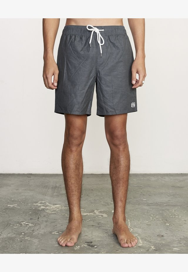 OPPOSITES - Swimming shorts - black
