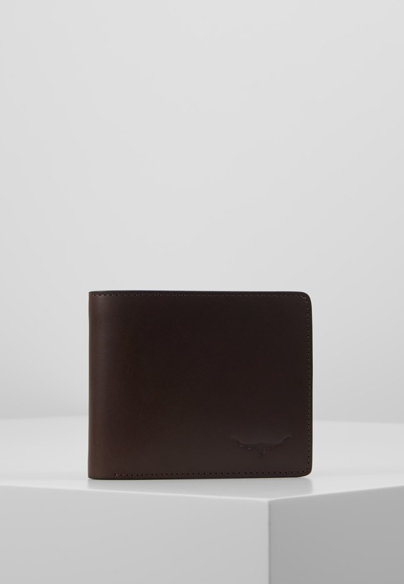 R. M. WILLIAMS - CITY WALLET WITH COIN POCKET - Portfel - chestnut