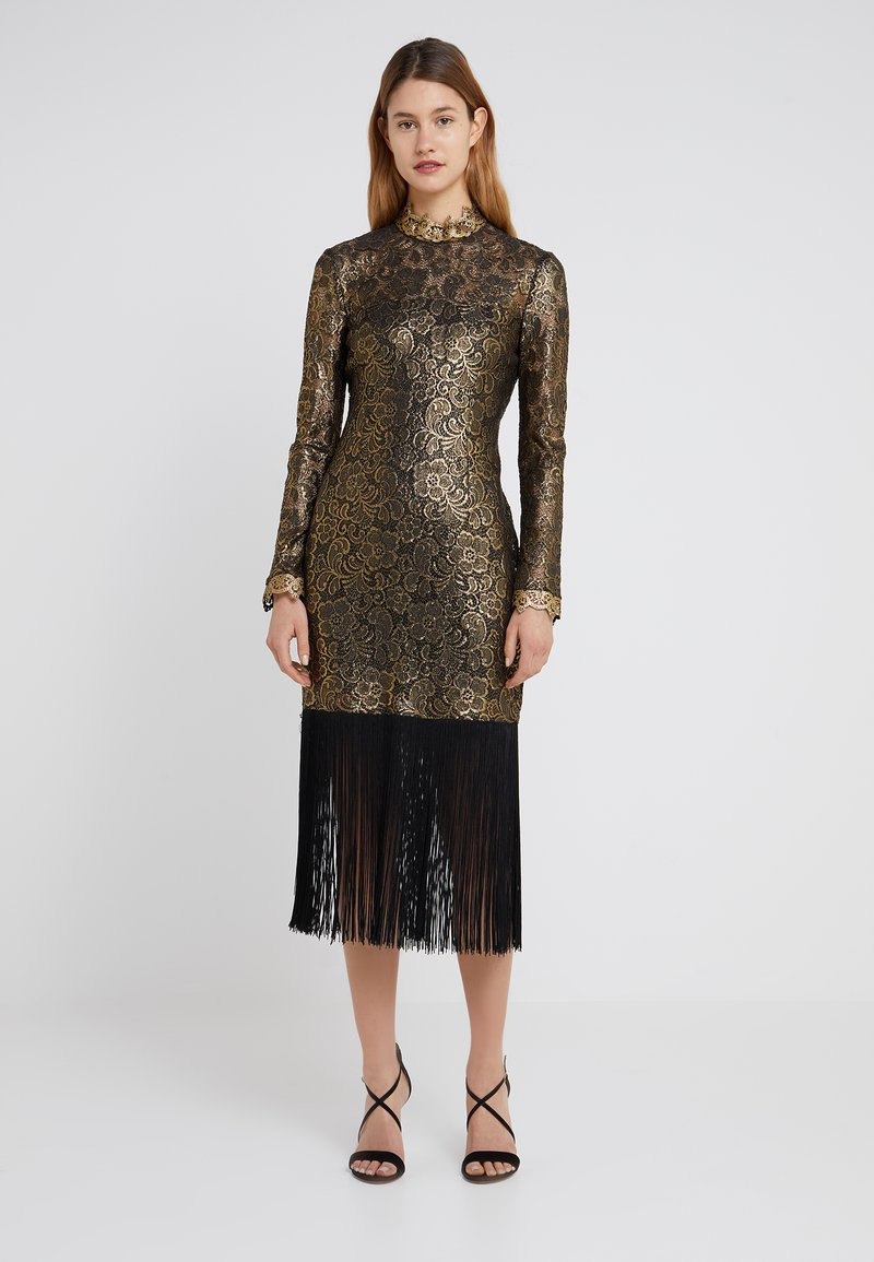 Rachel Zoe - HUNTER DRESS - Occasion wear - black/gold