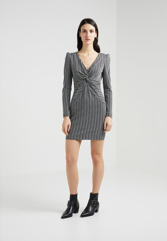 POPPY - Cocktail dress / Party dress - silver/black