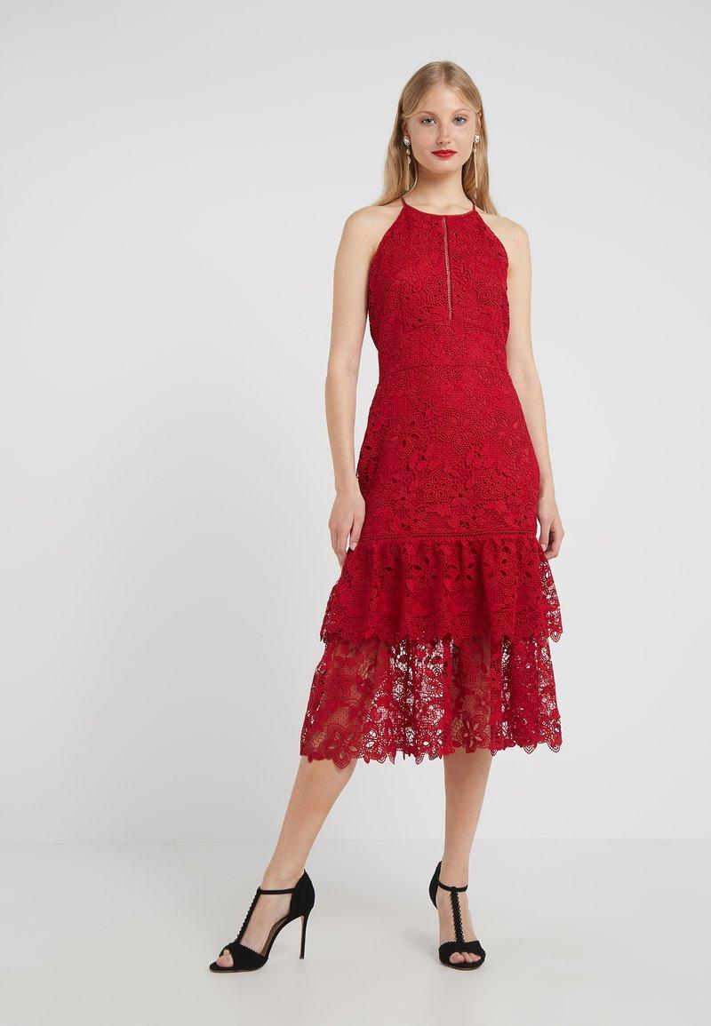 Rachel Zoe - ANNALISE DRESS - Cocktailkleid/festliches Kleid - crimson