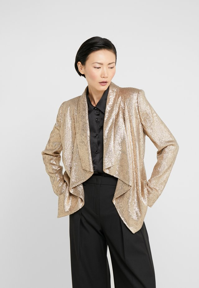 LENA JACKET - Blazer - light gold