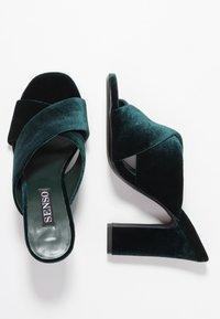 Senso - POPPY - Heeled mules - emerald - 3