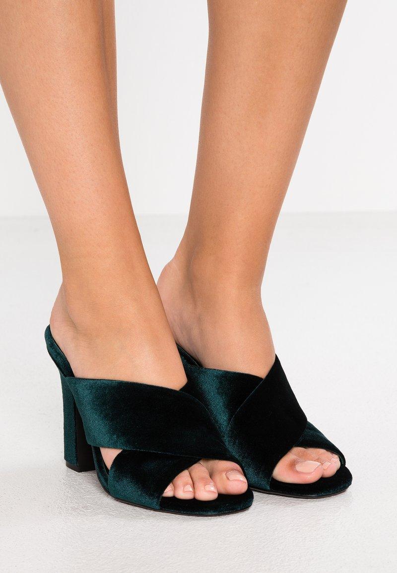 Senso - POPPY - Heeled mules - emerald