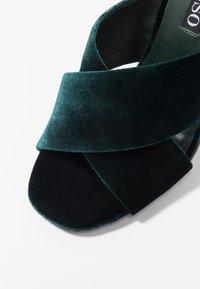 Senso - POPPY - Heeled mules - emerald - 2