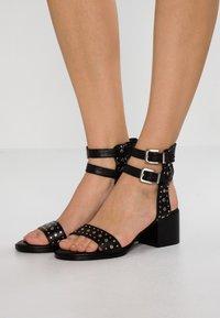 Senso - JILLIE - High heeled sandals - ebony - 0