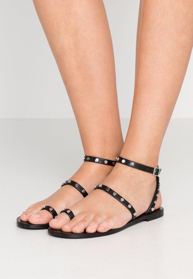 Senso - CASSIE - T-bar sandals - ebony