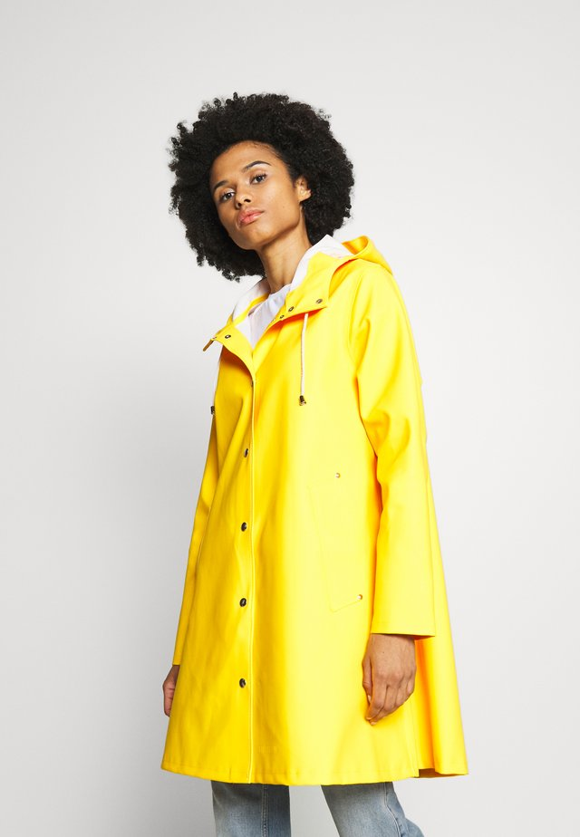 WATERPROOF MOSEBACKE - Parkas - yellow