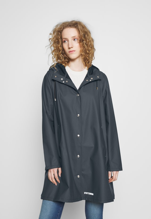 WATERPROOF MOSEBACKE - Waterproof jacket - navy