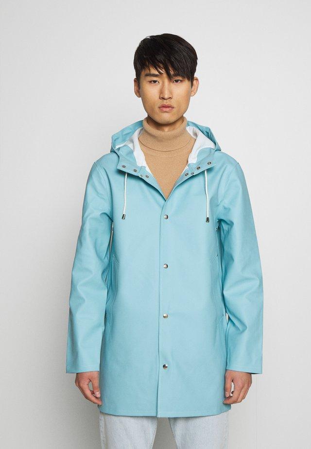 STOCKHOLM - Waterproof jacket - aqua