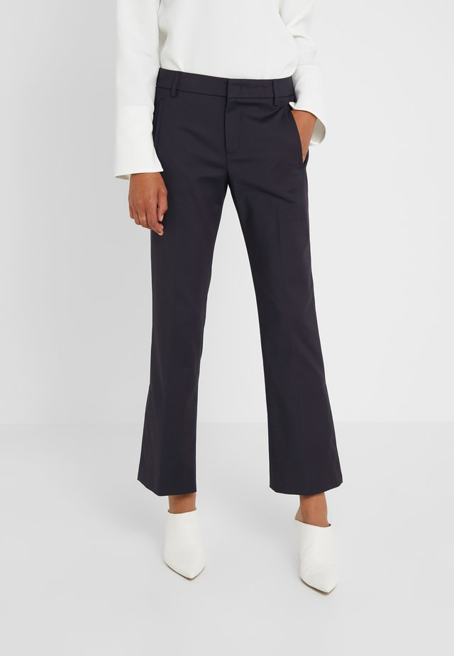 PANTS PARIE - Trousers - navy